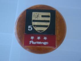 Cod 019 - Botão Embandeirado Do Flamengo Futebol De Botão