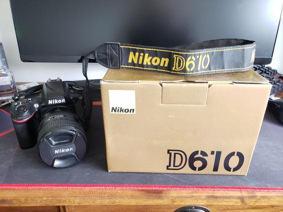 Nikon D610 32.000 Cliques (somente Corpo)