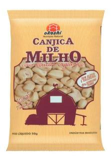 Pipoca Okoshi Canjica De Milho Com Açúcar Orgânico 50g
