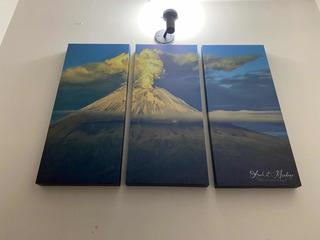 Lienzo Cuadro Decorativo Volcán Popocatépetl