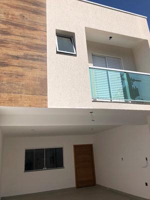 Sobrado 160m 3 Dorms 1s 4vg Vila Curuça Santo Andre