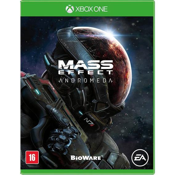 Jogo Mídia Física Mass Effect Andromeda Pt Para Xbox One