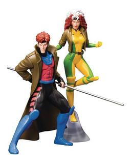 Marvel Artfx+ X-men Animated Gambit Rogue Pack Kotobukiya