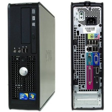 Cpu Dell Optplex 780 Ddr3 Core 2 Duo/2gb Mem./hd80