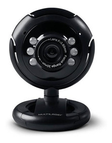 Webcam Usb New Vision 16 Mp Microfone Multilaser