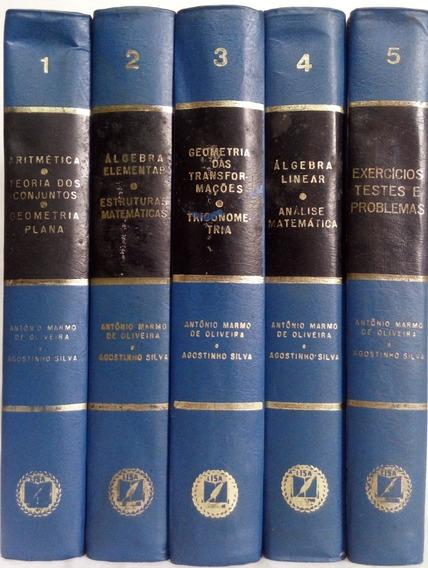 Lisa - Biblioteca Da Matemática Moderna - 5 Volumes