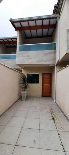 Imagem 1 de 12 de Sobrado 2 Dormitórios 1 Suíte 400 Metros Mar  Caiçara Ams165