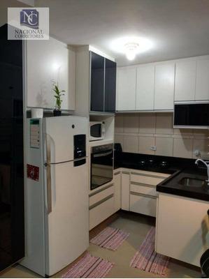 Sobrado Com 2 Dormitórios À Venda, 56 M² Por R$ 299.000 - Vila Alto De Santo André - Santo André/sp - So0508