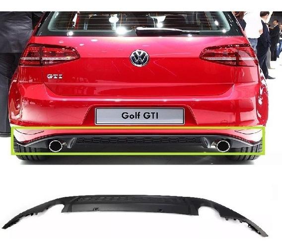 Para-choque Difusor Tras Golf Gti Mk7 Original Volkswagen