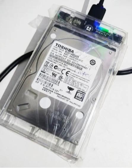 Hd 750 Gb + Case Para Externo