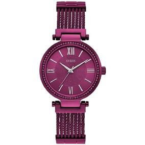 Relógio Feminino Guess Roxo Analógico 92580lpgdfa5