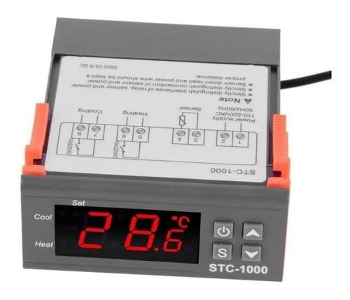 Controlador 2 Canales, Termostato, Incubadora, Stc-1000