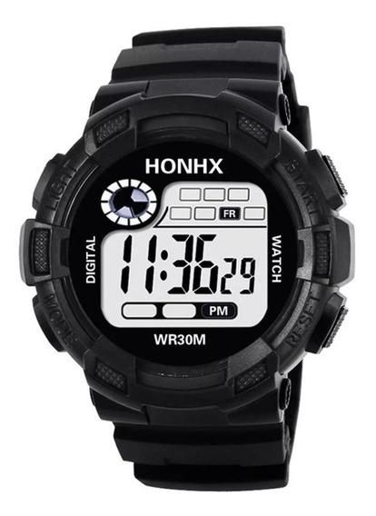 Relógio Honhx Digital Grande Militar Bonito E Resistente