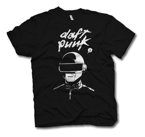 #2 [art-factory] Indie Rock Bands - Playera De Daft Punk