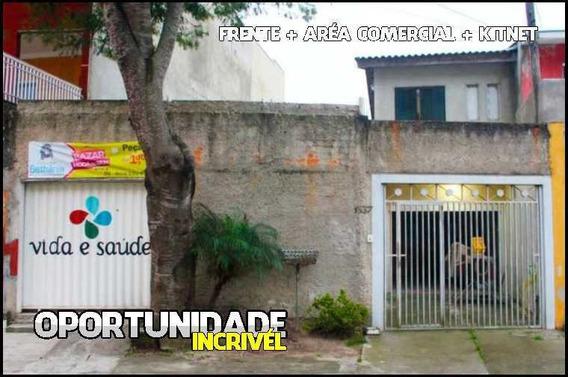 Casa C/ Suíte + 2dorms +kitnet +área Comercial