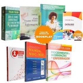 Kit Com Livro Pra Enfermagem Da Mindial Editora