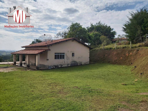 Ótima Chácara Com 03 Dormitórios, Próxima Do Asfalto, Bairro Povoado Com Linda Vista À Venda, 1250 M² Por R$ 320.000 - Zona Rural - Pinhalzinho/sp - Ch0799