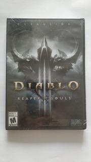 Diablo 3 Iii Reaper Of Souls Pc Expansión Sellado