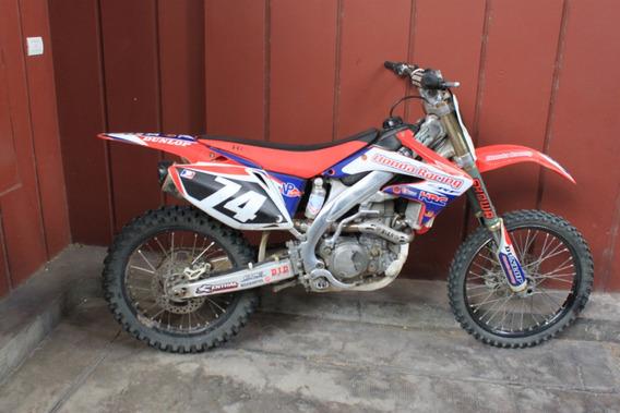 Honda Crf 450 R 2005 Uso Amateur Patentada Con 08 Firmado