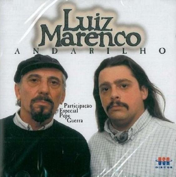 Luiz Marenco Andarilho - Cd Música Regional