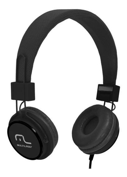 Headset Fone De Ouvido Fun 115db P2 Preto Ph115 Multilaser