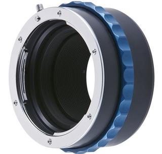 Novoflex Nex/nik Adaptador Para Lentes Nikon En Sony E Mount