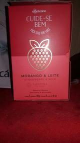 Sabonte (o Boticario). Morango E Leite . Com 5 Unidades.