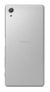 Tampa Traseira Celular Sony Xperia F5122 Cor Prata