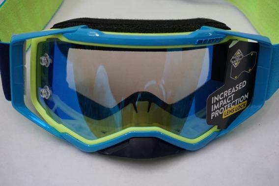 Scott Prospect Sand Dust LS MX Goggles Cross//MTB Black//White//Light Sensitive Grey