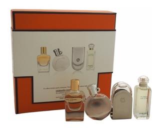 Set Coleccion Perfumes Miniaturas Hermes 4 Pz Envio Gratis