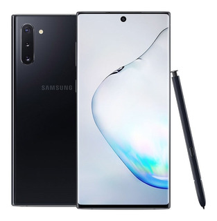 Samsung Galaxy Note 10+ Plus Black + Ringke Fusión X