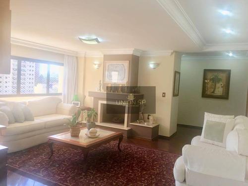 Apartamento Com 5 Dormitórios À Venda, 273 M² Por R$ 2.400.000,00 - Vila Mascote - São Paulo/sp - Ap37578