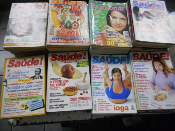 Revistas Saúde E Saúde É Vital Lote Com 150 Unidades!