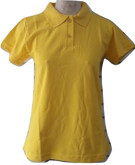 Kit 6 Camisas Feminina Camiseta Pólo Babylook Atacado Revend