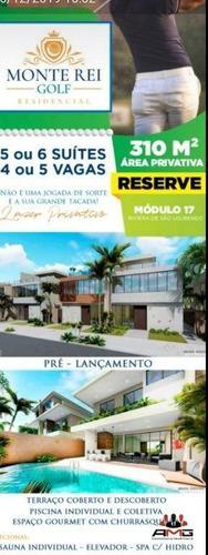 Village Com 5 Dormitórios À Venda, 310 M² Por R$ 2.600.000,00 - Riviera - Módulo 17 - Bertioga/sp - Vl0330