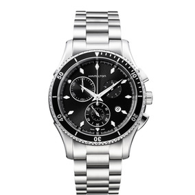Relógio Hamilton - Jazzmaster - Seaview Chrono - H37512131