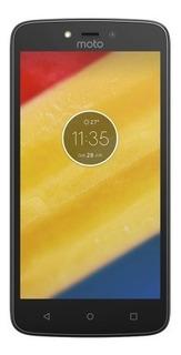 Smartphone Motorola Moto C Plus Dtv Preto Tela 5