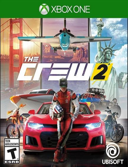 The Crew 2 Xbox One - 25 Dígitos (envio Flash)