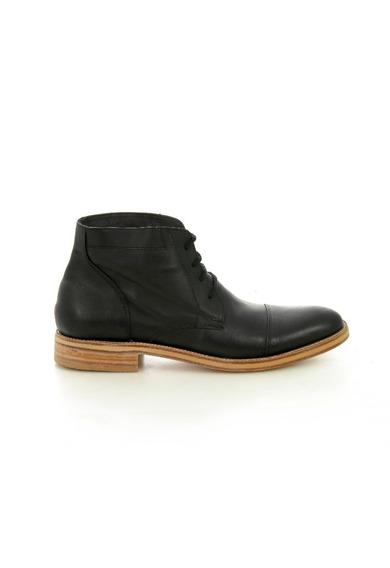 Zapatos 100% Cuero - Negro Z9000