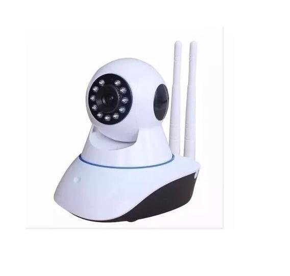 Câmera Ip Visão Noturna Wifi 720p 1.3 Mp 2 Antenas Oferta!