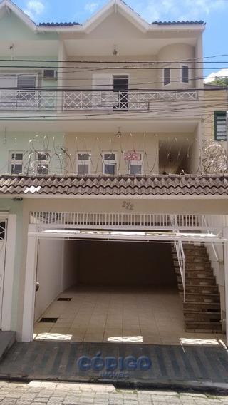 Lindo Sobrado 3 Dormitórios, 3 Vagas - Vila Galvão - 01606-2
