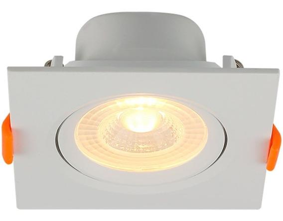 Spot Led Quadrado 3000k Para Embutir-blumenau-80263004