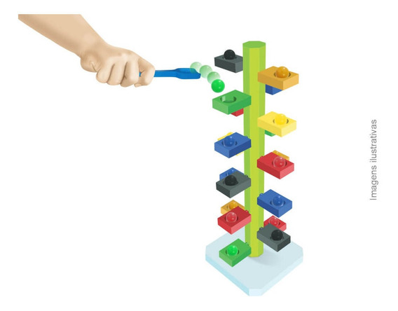Jogo Desafio Funcional Brinquedo Educativo Infantil À Vista