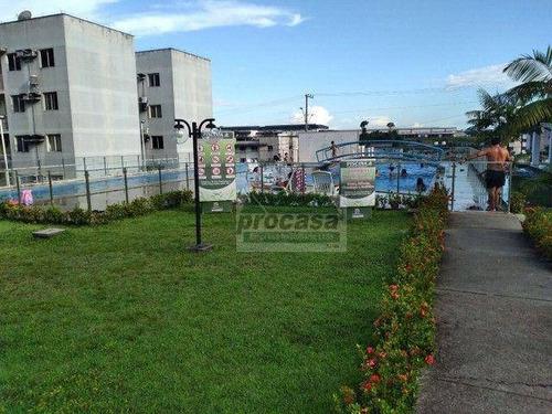 Imagem 1 de 5 de Apartamento Com 3 Dormitórios À Venda, 57 M² Por R$ 200.000 - Tarumã - Manaus/am - Ap3448