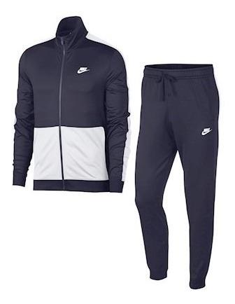Conjunto De Pants Para Caballero Marino Nike Wear 928109452