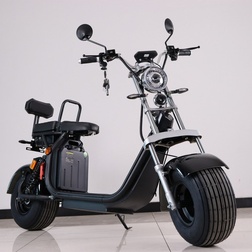 Imagen 1 de 8 de Moto Electrica Scooter Citycoco Harley Chopper 50km/h