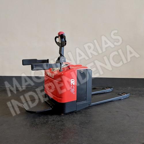 Zorra Electrica Heli 2000 Kg Cbd20 Plataforma Hombre Parado