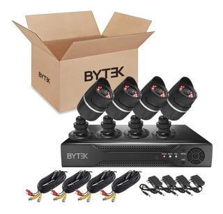 Kit Cctv 4 Camaras 2 Mp 1080p 2800tvl Dvr Cables Video Hdmi