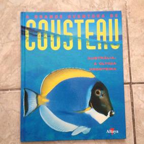 Livro A Grande Aventura De Cousteau Austrália C2