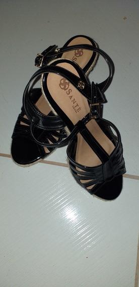 Sandália Anabella Sante Shoes Preta